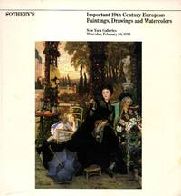 image of Important 19th Century European Paintings, Drawings and Watercolors, New York, February 24, 1983 (Sale 5010)