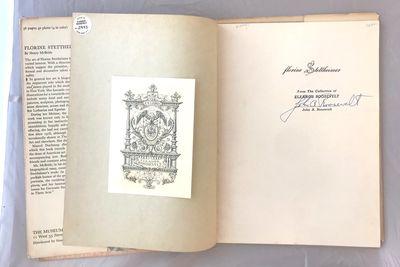 Henry Mcbride. Florine Stettheimer Exhibition Catalog. New York: Simon and Schuster, 1946. First Ed...