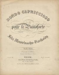 [Op. 14]. Rondo capriccioso [Solo piano] pour le Pianoforte ... Nouvelle Edition