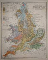 Geological Map of England & Wales (with leading railways)  by Henry W. Bristow [...] by  Son & Co. Ltd: Letts - c. 1884 - from Bryars and Bryars and Biblio.co.uk