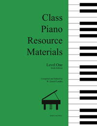 Class Piano Resource Materials, Level One