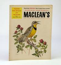Maclean's, Canada's National Magazine, April (Apr.) 13, 1957: Axel Wenner-Gren's Plans for British Columbia / The Art of Fenwick Lansdowne / Louis B. Mayer / Maple Leafs Kid Line
