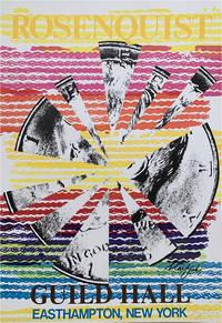 Rosenquist at Guild Hall, East Hampton, 1974 (poster)