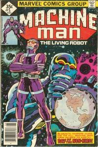 MACHINE MAN The Living Robot: Aug #5