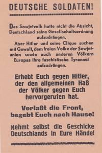 Deutsche Soldaten!