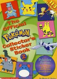 The Pokemon Collector's Sticker Book No. 2 : Gold and Silver Edition