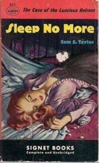 Sleep No More: The Case ot the Luscious Heiress (1st)