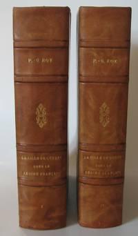 La Ville de Québec sous le régime français. Deux volumes by  Pierre-Georges Roy - Hardcover - 1930 - from Librairie La Foret des livres (SKU: R2284)