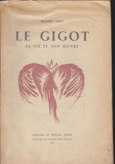Paris: Librairie Le Terrain Vague. 1957. Softcover. Original glassine over wraps, very good with som...