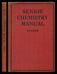 image of SENIOR CHEMISTRY MANUAL OF EXPERIMENTS