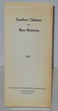 image of Southern opinion and race relations