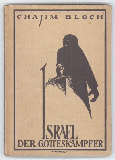 Berlin: Verlag von Benjamin Harz, 1920. Octavo, pp. 9-159 , original pictorial tan boards, front and...