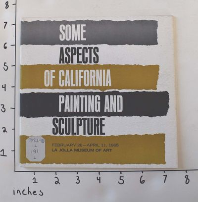 La Jolla: La Jolla Museum of Art, 1965. Paperback. VG- but art museum ex-lib. with usual marks. Othe...