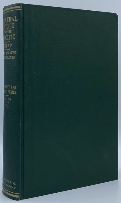 Glendale, CA: Arthur H. Clark Company, 1957. First Edition. 346pp. Octavo Green cloth with the title...