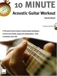 10 Minute Acoustic Guitar Workout Book & CD