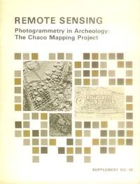 image of Remote Sensing: Photogrammetry in Archeology: The Chaco Mapping Project