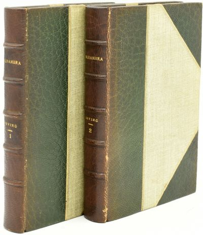 New York: G. F. Putnam's, n.d.. Three Quarters Leather. Very Good binding. The set in two volumes, n...