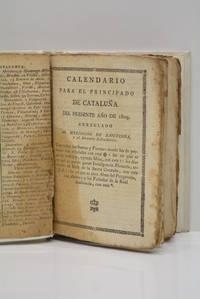 CALENDARIO del año 1809. Arreglado exactâmente con el Dietario Eclesiastico de la...