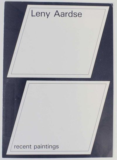 Apeldoorn, The Netherlands: Centraal Beheer, 1985. First edition. Exhibition brochure. Essay by Jan ...