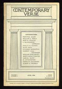 image of Contemporary Verse: June 1916
