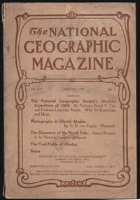 National Geographic Magazine, January 1910, Vol. XXI, No. 1 [Alaska and the North Pole]