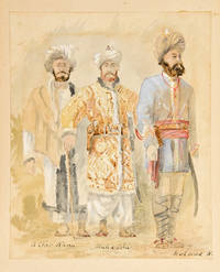 Jowaki [manuscript title of an album of watercolours and pen-and-ink sketches by Radford recording the Jowaki Expedition in Kohat Pass]