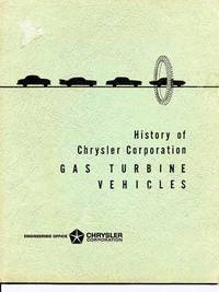History of Chrysler Corporation: Gas Turbine Vehicles