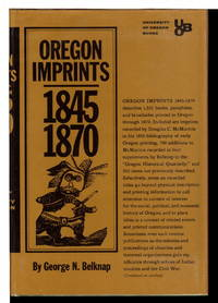 OREGON IMPRINTS 1845-1870.