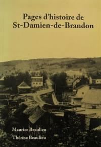 image of Pages d'histoire de St-Damien-de-Brandon (French Edition)