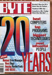image of BYTE Magazine - September 1995: 20th Anniversary Special Issue