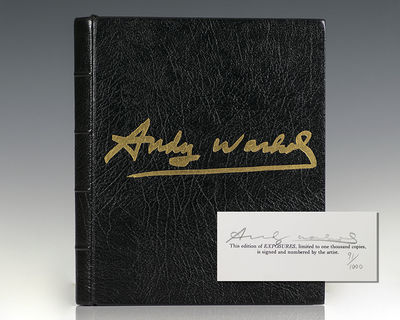 New York: Andy Warhol Books/Grosset & Dunlap Publishers, 1979. Signed limited deluxe gold edition of...