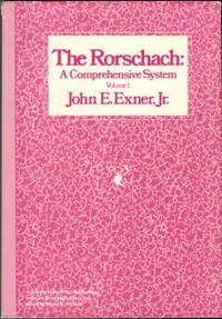 image of The Rorschach: A Comprehensive System, Volume 1