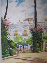 "image of Original Artwork Entitled ""Santa Maria De Cruz"""