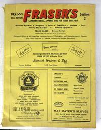 image of Fraser's Canadian Textile, Apparel and Fur Trade Directory, Section 2