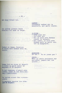 image of My Son, the Hero [Les Titans] (Original French screenplay and press material for the 1962 film)