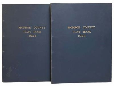Philadelphia, PA: G.M. Hopkins Co, 1924. Large Hardcover. Very Good/No Jacket. Complete in two volum...
