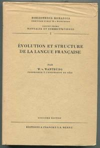 image of Évolution Et Structure De La Langue Française