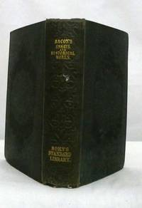 image of The Moral and Historical Works of Lord Bacon Including his Essays, Apophthegms, Wisdom of the Ancients, New Atlantis, and Life of Henry the Seventh With an Introductory Dissertation and Notes, Critical, Explanatory and Historical by Joseph Devey