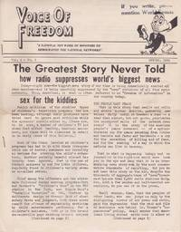 Voice of Freedom: The Greatest Story Never Told: How Radio Suppresses World's Biggest News