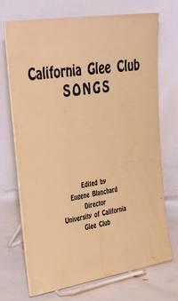 California Glee Club songs