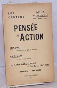 image of Les Cahiers Pensée et Action: no. 16, Octobre-Novembre-Decembre 1961