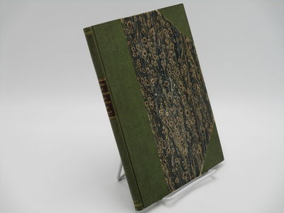 Lausanne. : Hignou Aine. , 1823 . Later green cloth over marbled boards, original front wrapper boun...