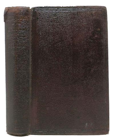 New York: D. Appleton & Co, 1868. 1st edition (Sabin 27402). Brown morocco grain cloth . Gd (old pen...