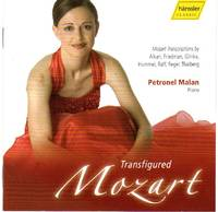 image of Petronel Malan - Transfigured Mozart - Mozart Transcriptions [COMPACT DISC]