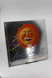 Comediants Presenta Sol Solet:  Version libre, sensorial, cosmica y literaria del espectaculo SOL SOLET.  La idea Y la ralizadicion son obra de COMEDIANTS.