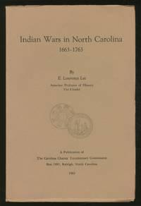 Indian Wars in North Carolina, 1663-1763