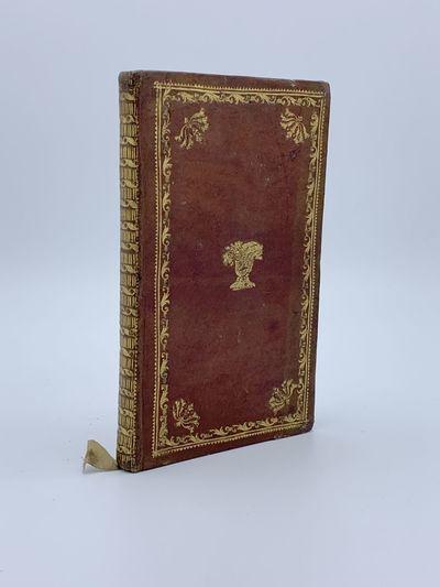 Vercelli: Joseph Ceretti e Filio, 1816. A fine copy save one word excised from p.29. 8vo (168 x 100 ...