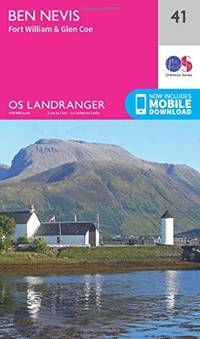 Landranger (41) Ben Nevis, Fort William & Glen Coe (OS Landranger Map)