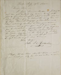 image of Autograph letter, signed (
