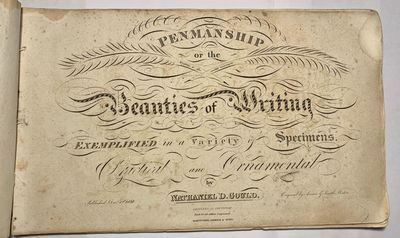 Hartford, : Andrus & Judd, 1838. Oblong 4to. 170 x 290 mm. (6 3/4 x 11 1/2 inches). blank, 21 plates...